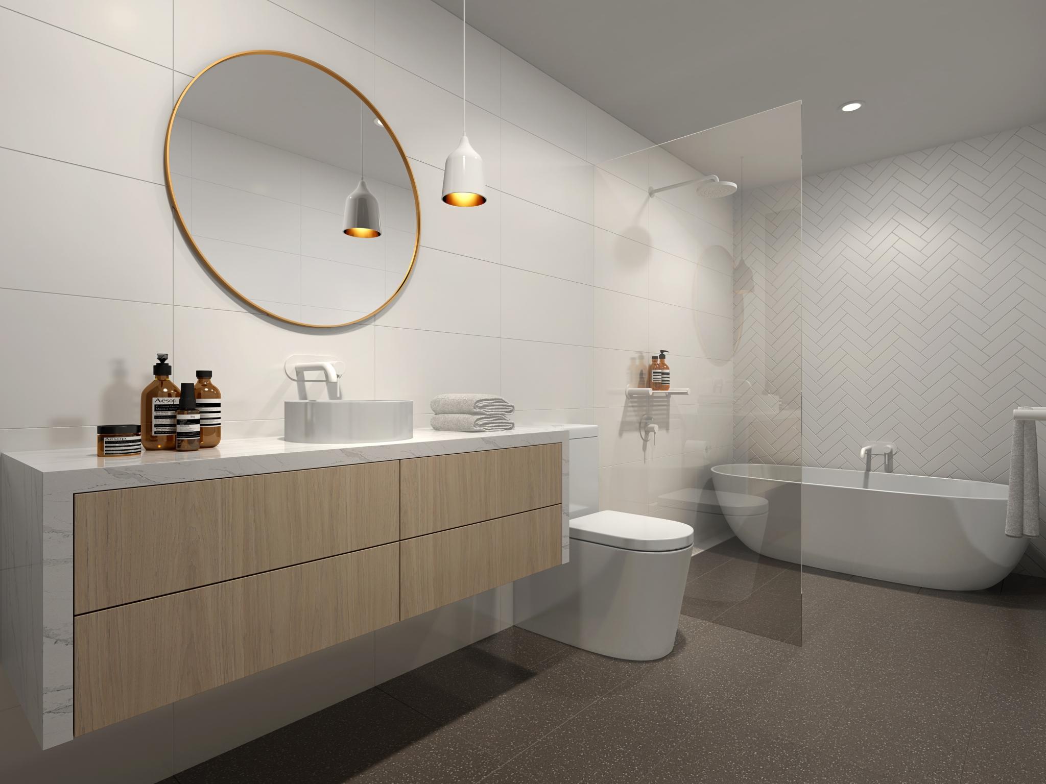 Residence 08 Bathroom Blanca Palette
