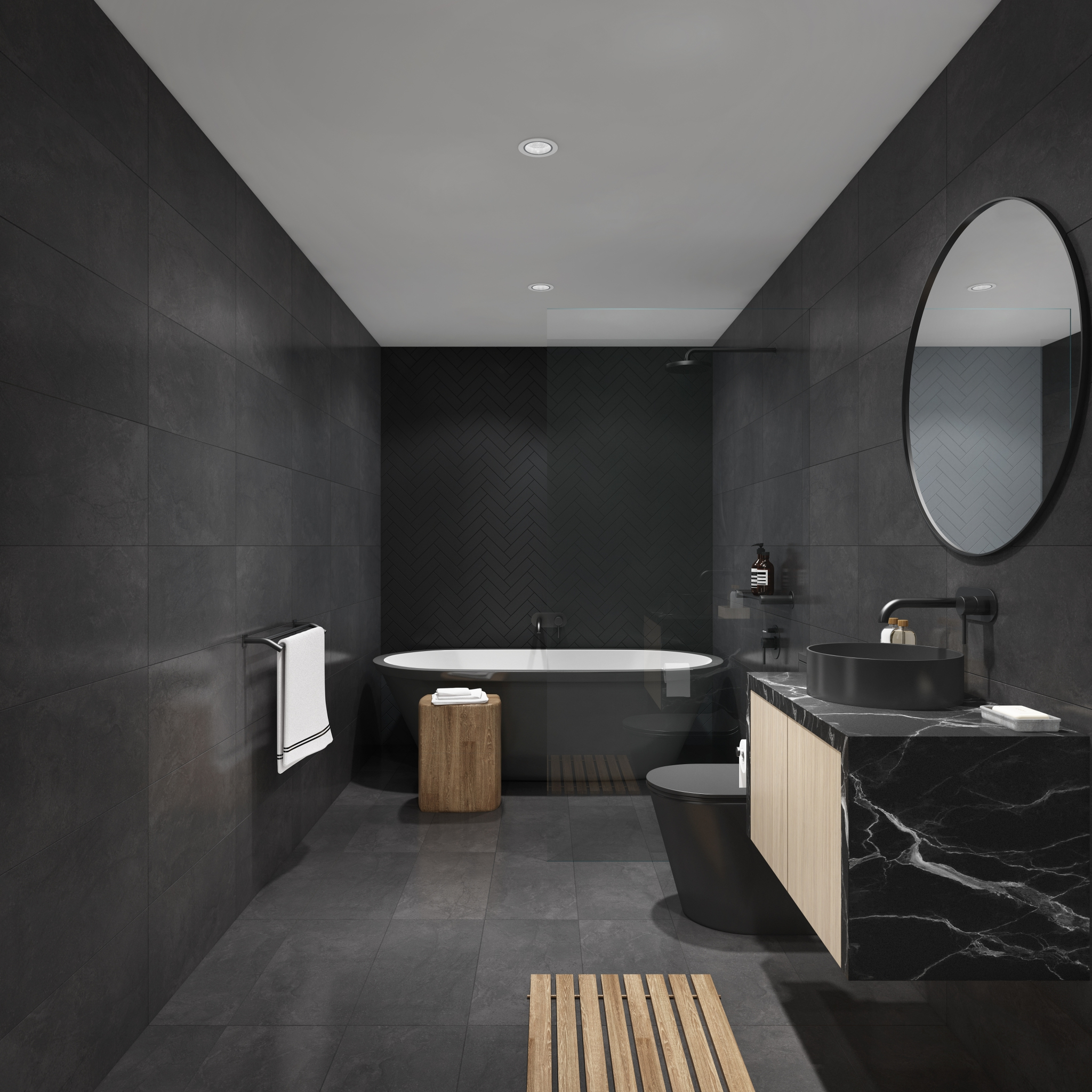 Residence 26 Bathroom Noir Palette